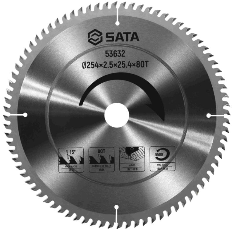 SATA世达圆锯片 Ø254×2.5×25.4×60T 53631